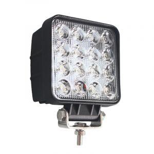 Квадратная светодиодная LED фара направленного света 48W