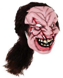 Маска Зомби волосатый