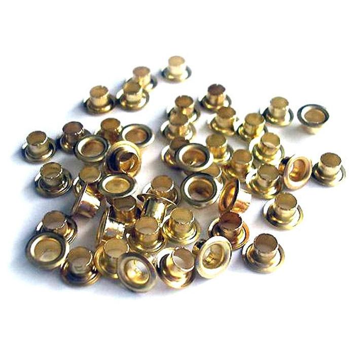 Люверсы золото