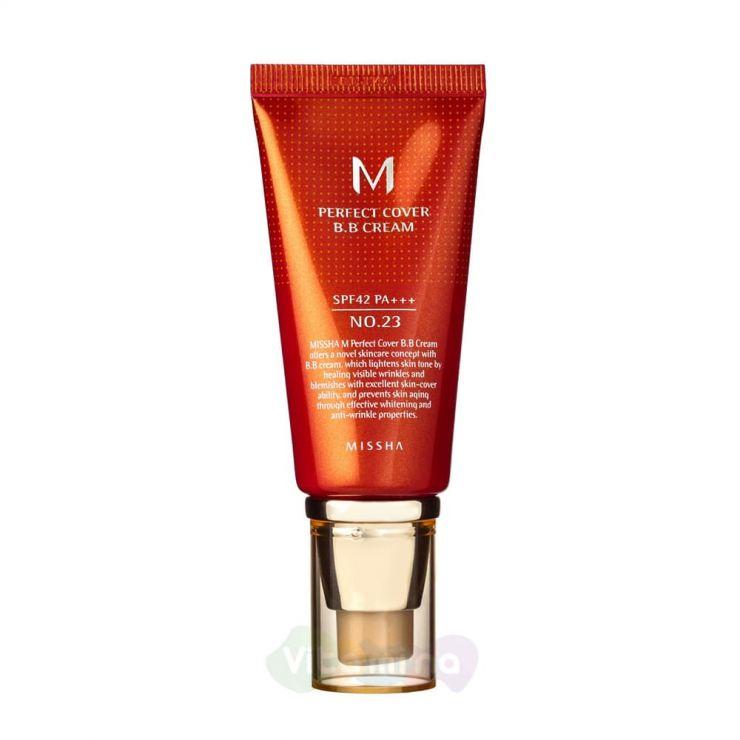 Missha ББ крем с максимальной кроющей способностью M Perfect Cover BB Cream SPF42 PA+++, 50 мл