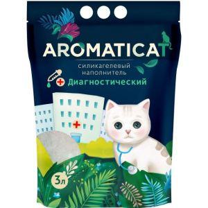 Наполнитель для кошек AromatiCat силикагелевый Диагностический 1,25 кг (3 л.)