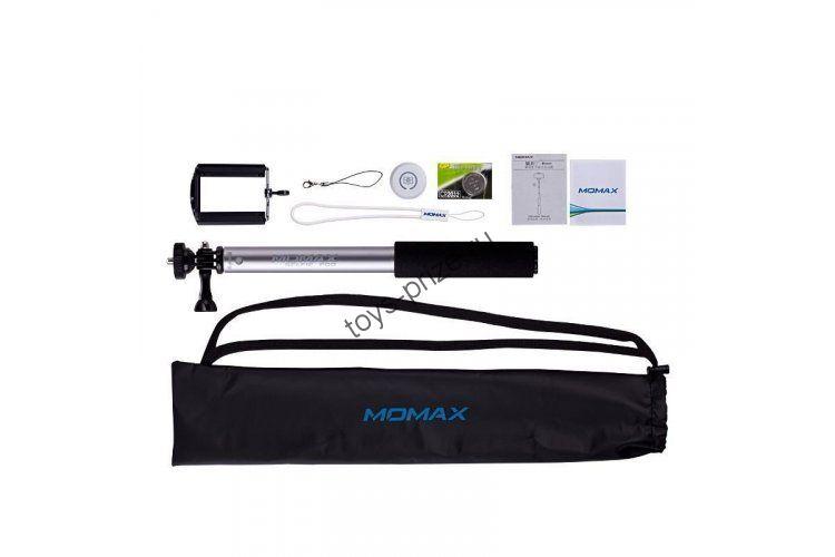 Монопод (селфи стик) Momax SelfiFit Bluetooth Selfie Pod
