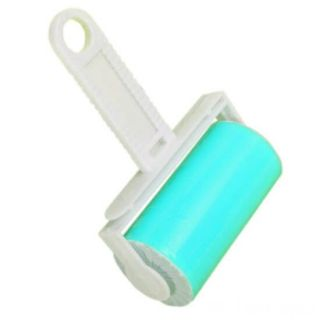 Липкий валик для чистки одежды, Цвет: Голубой