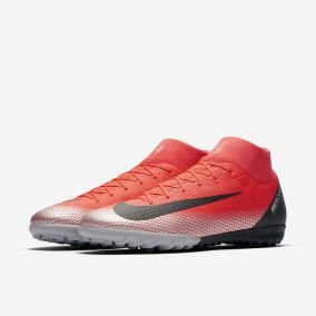 Сороконожки NIKE MERCURIALX SUPERFLY VI ACADEMY CR7 TF AJ3568-600