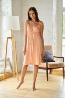 Ночная сорочка арт.0011-01 персиковая, вискоза