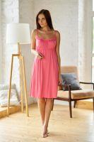 Ночная сорочка арт.0011-07 розовая, вискоза