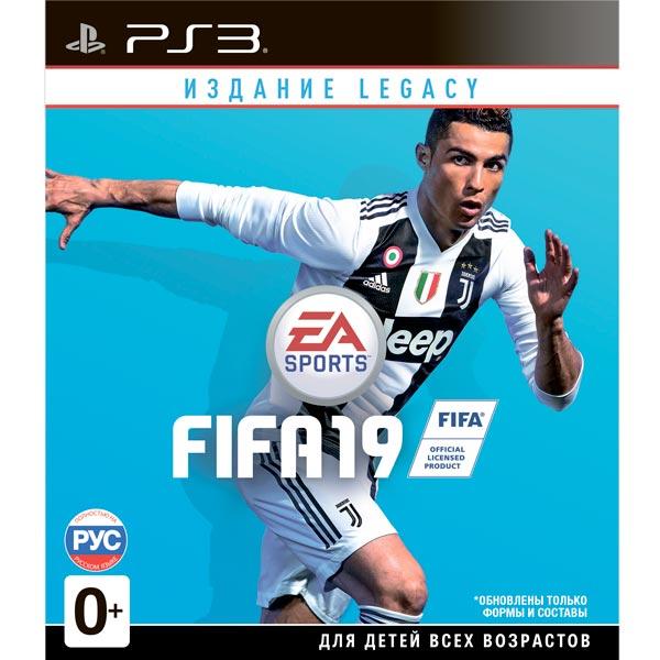 Игра Fifa 19 Издание Legacy (PS3)