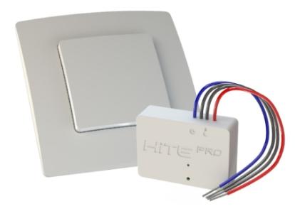 Комплект HiTE PRO KIT-1 (радиовыключатель + реле + рамка) Белый