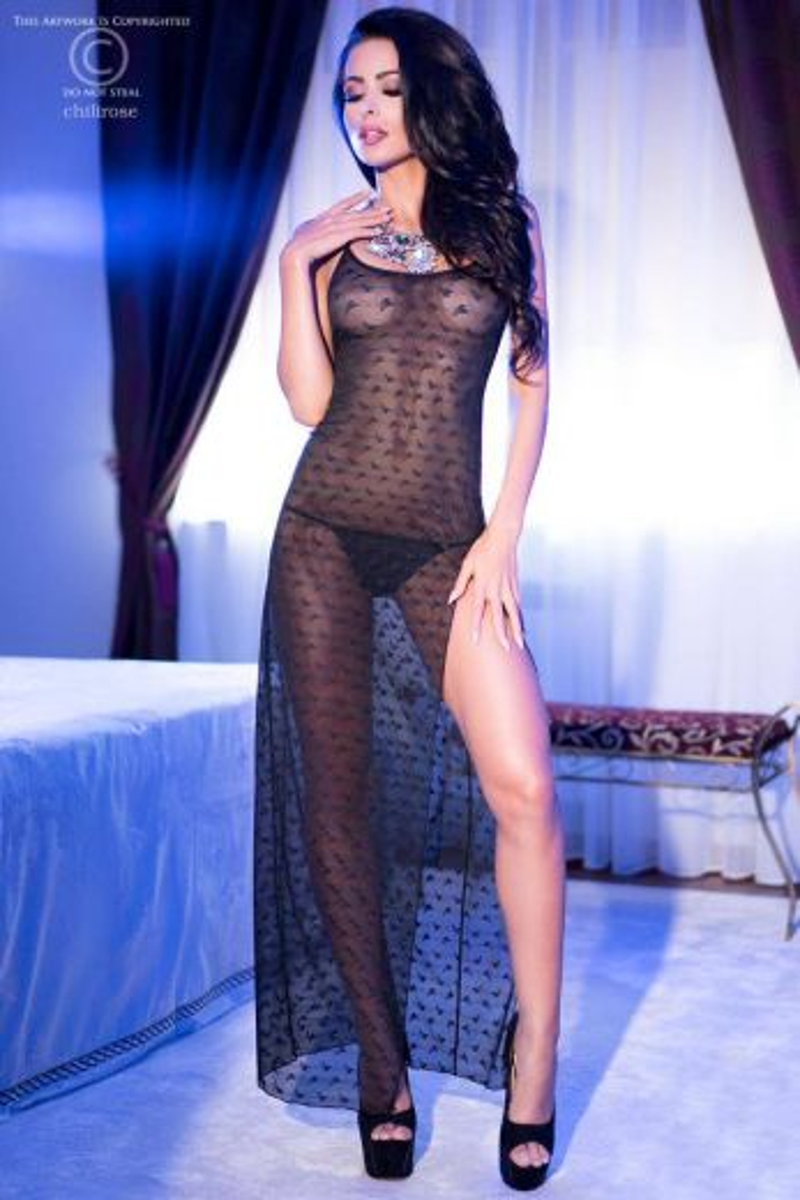CHILIROSE 4086 женская ночная сорочка