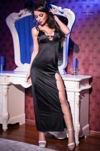 Chilirose 4164  длинное платье и трусики стринги