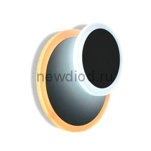 Светодиодный светильник, бра  Geometria round 12W R-185-WHITE-220-IP44