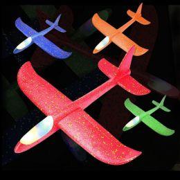 Самолет- планер 48 см. светящаяся кабина