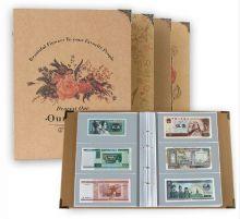 Альбом для коллекционирования банкнот на 240 штук