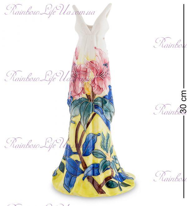 """Ваза платье Леди """"Pavone"""""""
