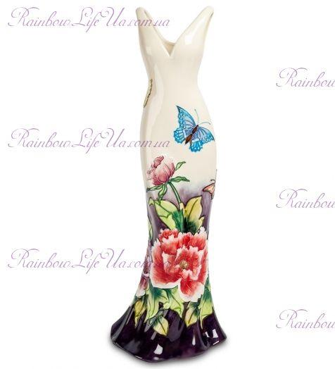 "Ваза дамское платье Butterflies ""Pavone"""