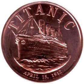 Титаник США Монетовидный жетон