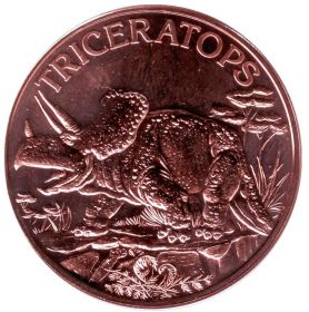 Трицкратопс США Монетовидный жетон