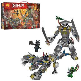 Конструктор Ninja «Железный воин» 422 детали