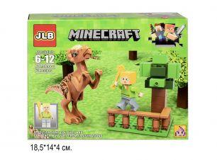 Конструктор Minecraft Динозавры 61 деталь