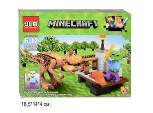 Конструктор Minecraft Динозавры 64 детали