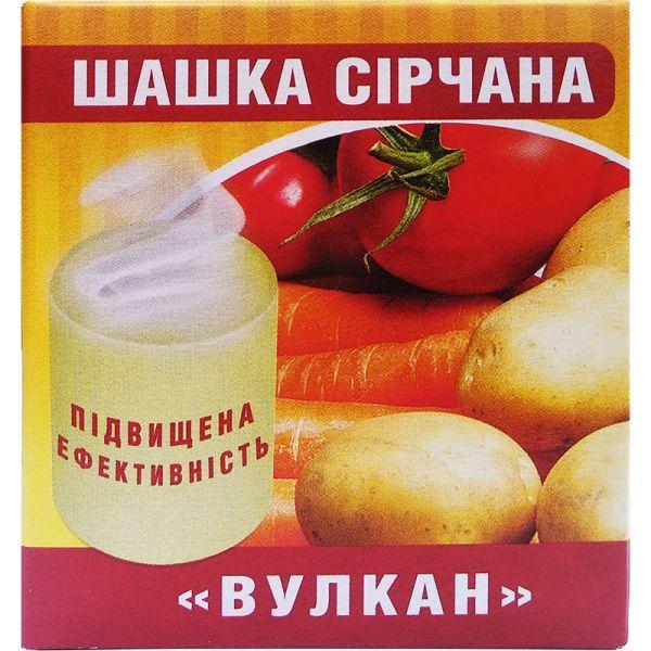 """Серная шашка """"Вулкан"""" (300 г) от БИОН, Украина"""