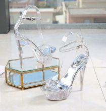 Туфли стрипы для танцев на высоком каблуке Kabare