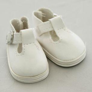Обувь для кукол - сандалики 5 см (белые)