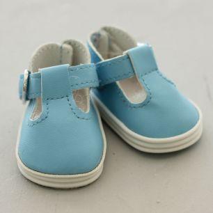 Обувь для кукол - сандалики 5 см (голубые)