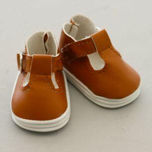 Обувь для кукол - сандалики 5 см (светло-коричневые)