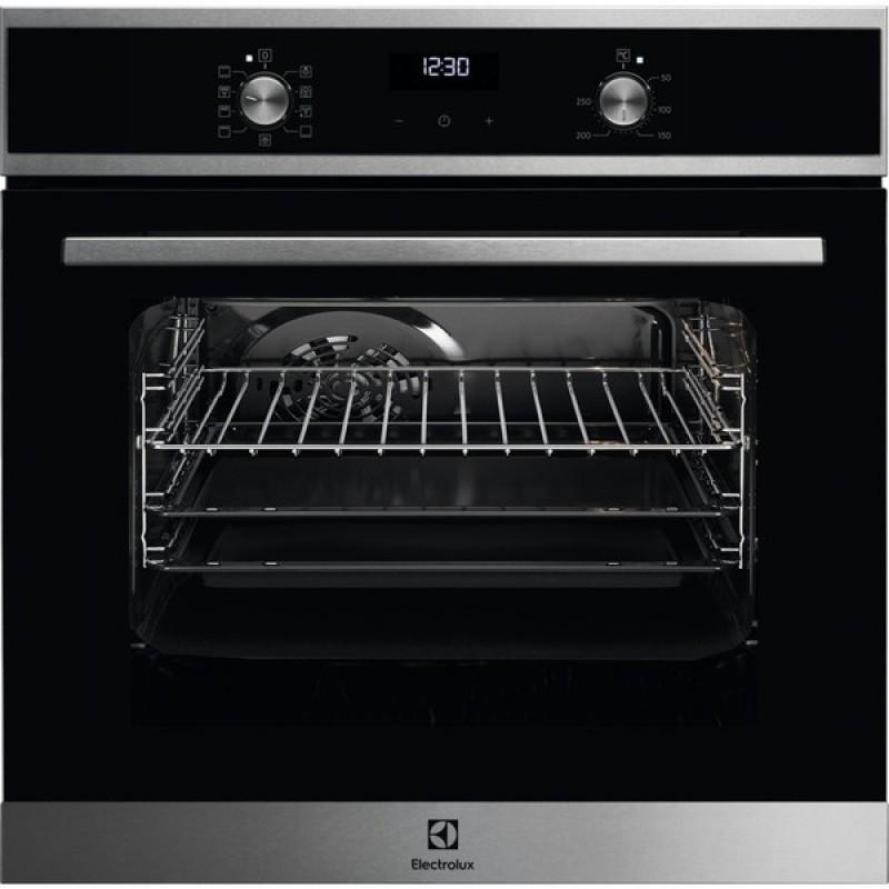 Встраиваемая электрическая духовка Electrolux OEF5E50X