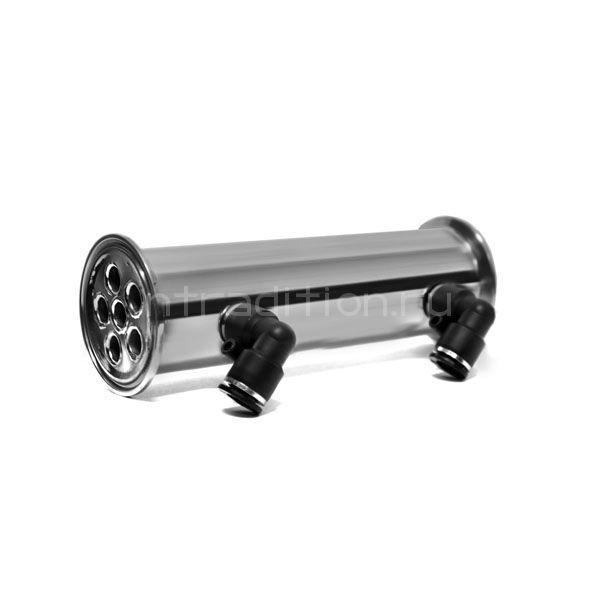 Мини-дефлегматор 2 дюйма, 180 мм (трубки 6*12)