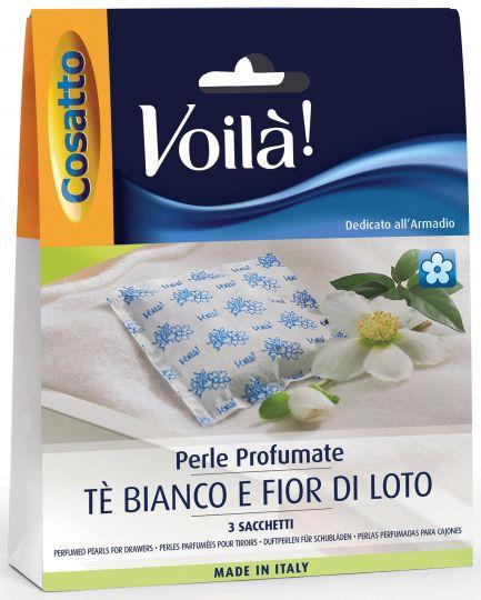 Подушечки для гардероба Cosatto Белый чай и Лотос 3 шт