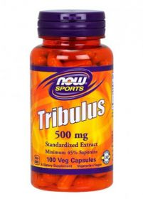 Tribulus 500 mg от NOW (100 кап)