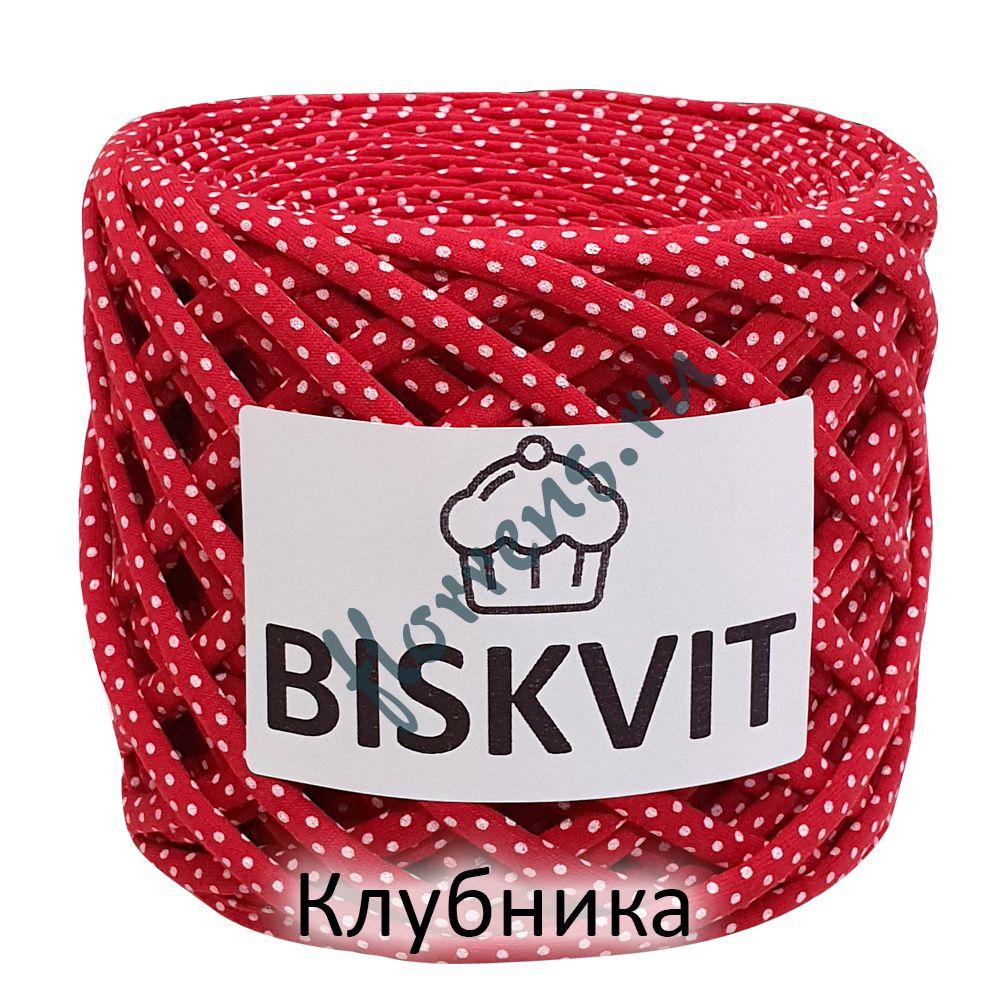 Трикотажная пряжа Biskvit / Клубника
