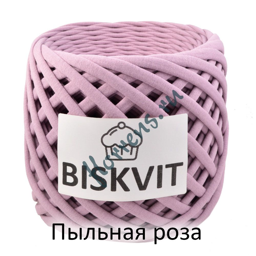 Трикотажная пряжа Biskvit / Пыльная роза