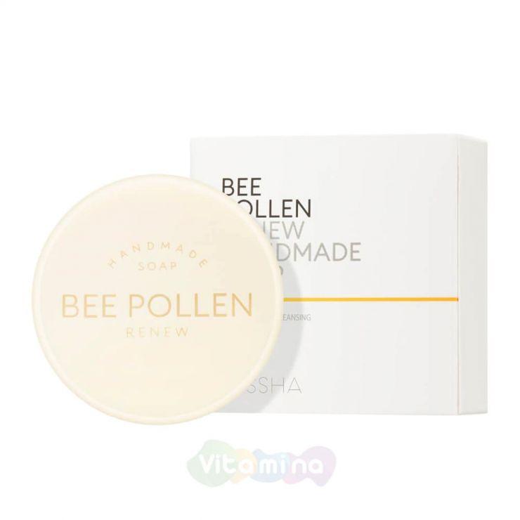 Missha Обновляющее мыло ручной работы с пчелиной пыльцой Bee Pollen Renew Handmade Soap, 100 гр