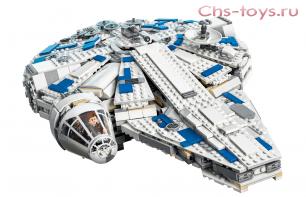 Конструктор PRCK Space Battle Сокол Тысячелетия на Дуге Кесселя 35029 (75212) 1490 дет