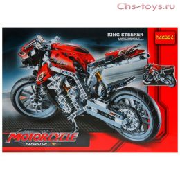 Конструктор Decool Technic Мотоцикл 3353 (Аналог LEGO Technic 8051) 431 дет