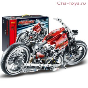 Конструктор Decool Technic Мотоцикл 3354 (Аналог LEGO Technic 8051) 378 дет