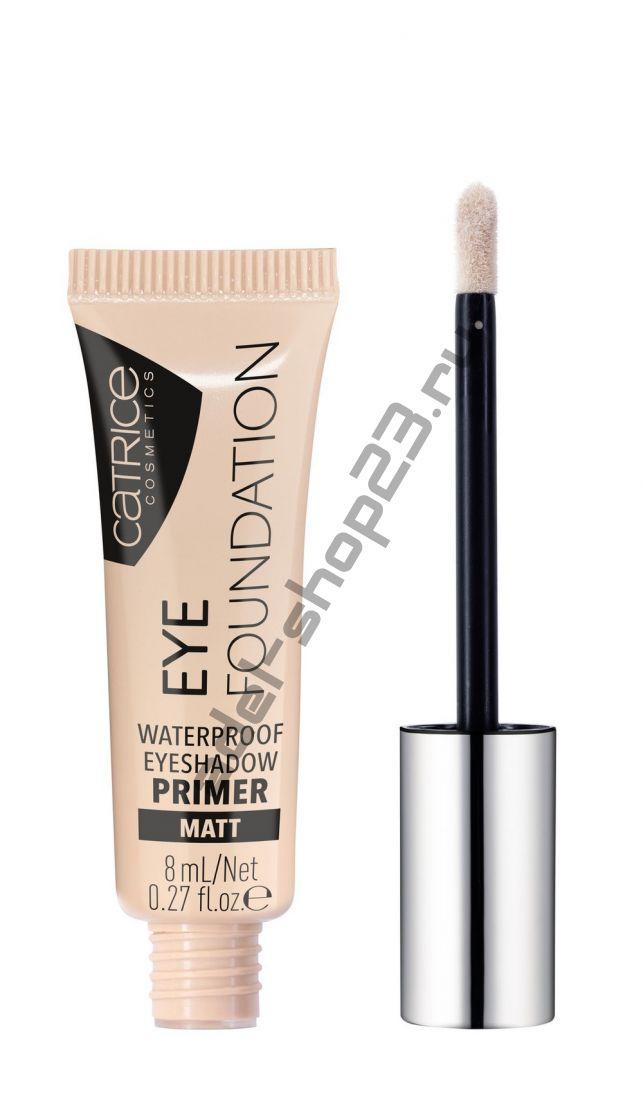 Catrice - Водостойкий праймер для век Eye Foundation Waterproof Eyeshadow Primer