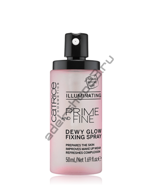 Catrice - Фиксирующий спрей Prime And Fine Dewy Glow Fixing Spray