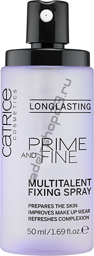 Catrice - Prime And Fine Multitalent Fixing Spray