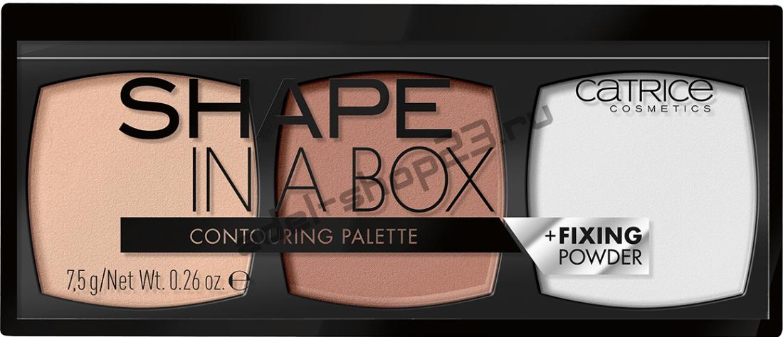 Catrice - Палетка для контурирования Shape In A Box Contouring Palette