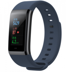 Фитнес-браслет Xiaomi Amazfit Cor Smartband international (синий)