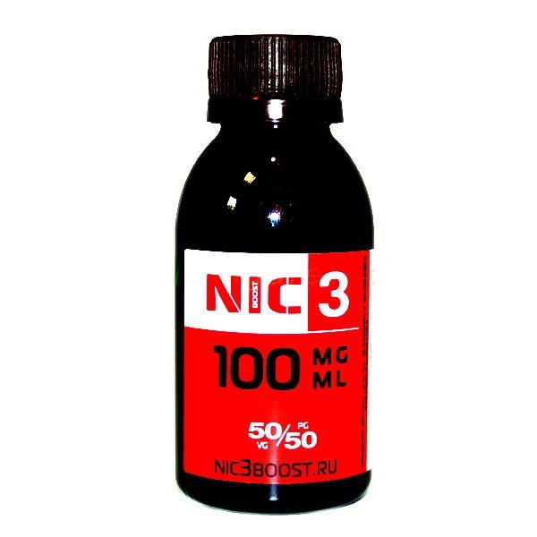 Никотиновая основа NIC-3 (USP 100 мг) 100 мл