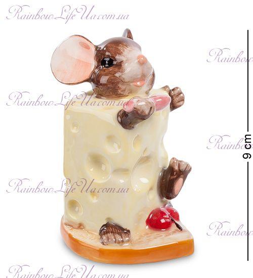 """Фигурка мышка в сыре """"Pavone"""""""