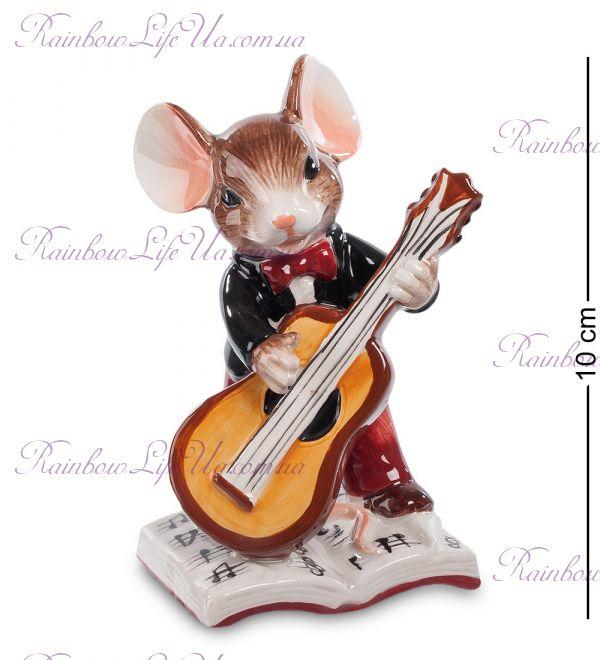 """Фигурка мышонок музыкант """"Pavone"""""""