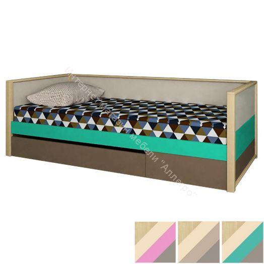 """Кровать """"Робин Вуд"""" нижняя с фальш панелью"""