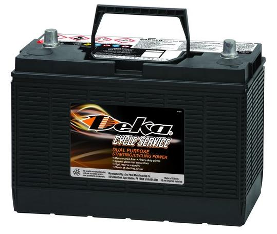 Аккумуляторная батарея DEKA 7T31P (CCA 730) (140Ач)