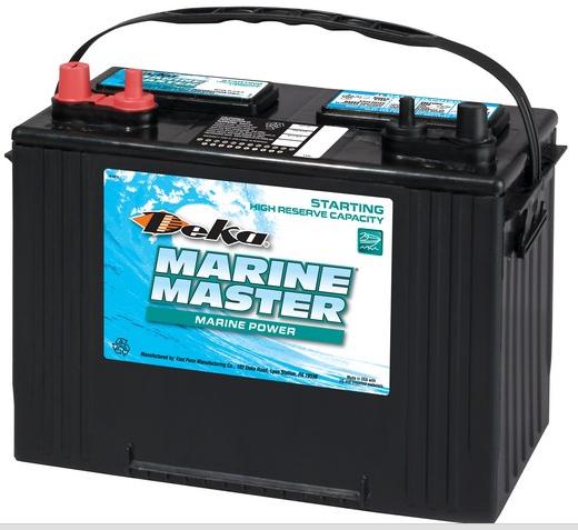Аккумуляторная батарея DEKA DP27 (CCA650)